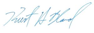 Kurt's signature